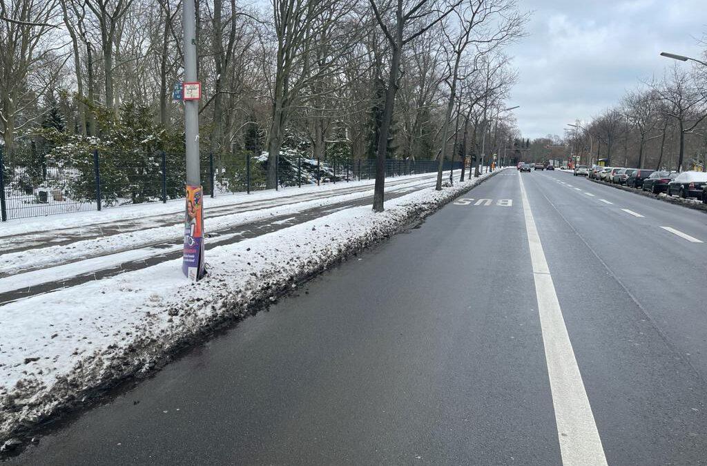 Senatsverwaltung für Verkehr stiftet die Bezirke zum Lügenan
