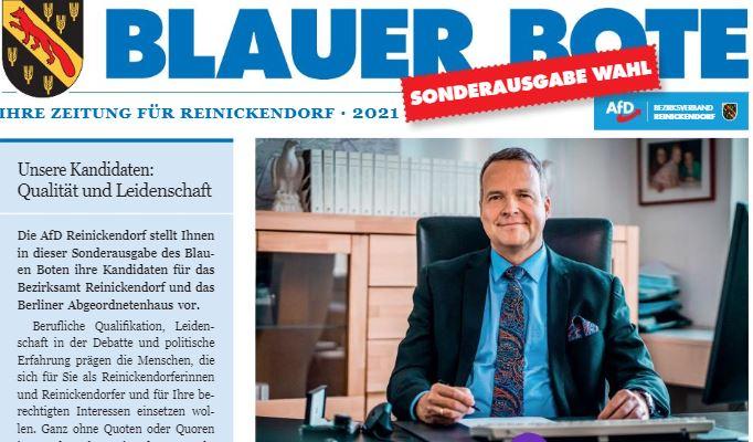 Sonderausgabe Blauer Bote Sommer2021